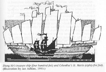 Zheng He - Kapal