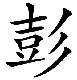 Asal Usul Marga Peng (彭)
