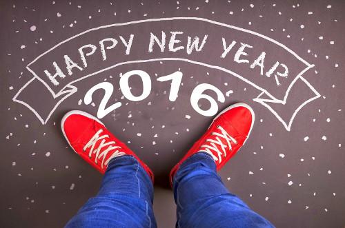 Selamat Tahun Baru 1 Januari 2016