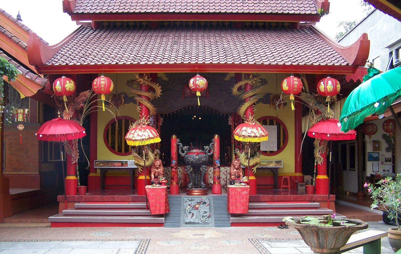 Kelenteng Kong Co Bio Tabanan, Bali, Indonesia