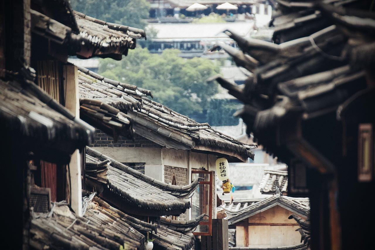 Atap Tradisional Rumah Tionghoa