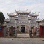 Gerbang Kuil Tianshifu di Gunung Longhu