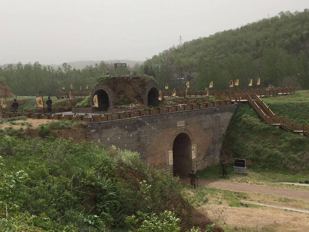 Situs Arkeologi Han Gu Guan (函谷关)