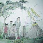 Menabur Bunga Di Hari Qing Ming