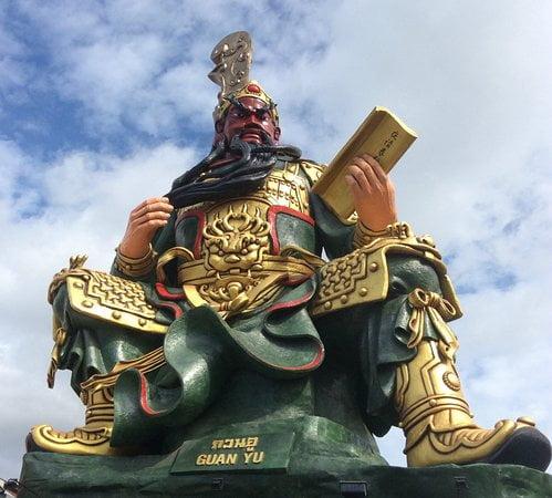 Dewa Guan Gong (關公) / Guan Sheng Di Jun (關聖帝君) di Thailand