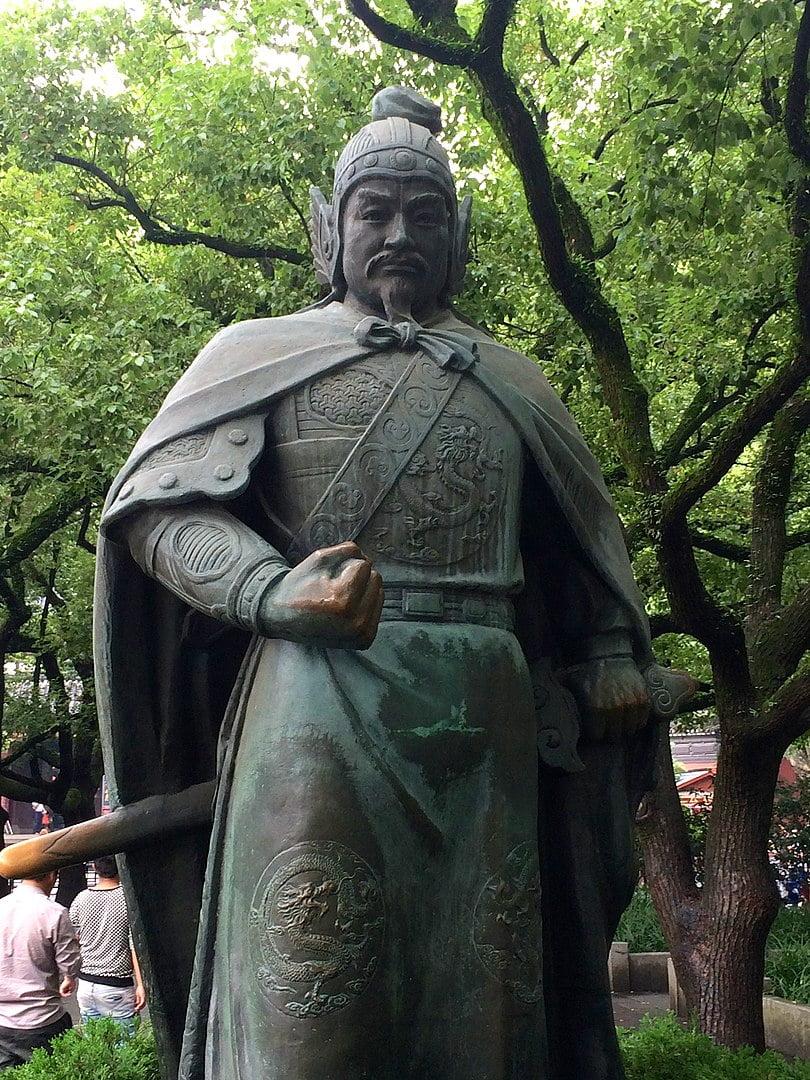 Patung Yue Fei di Kuil Yue Fei Hangzhou