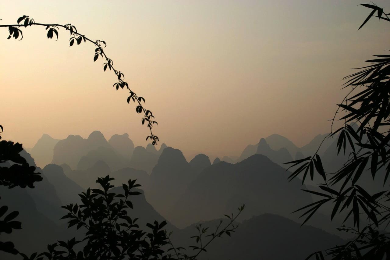 Pegunungan Guilin Tiongkok