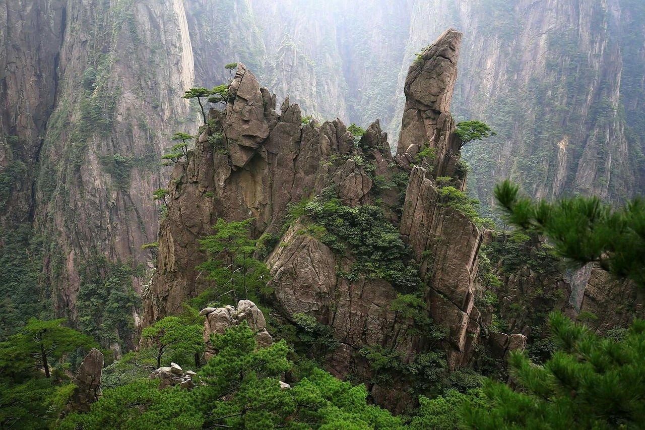 Pegunungan Huangshan Tiongkok - 22