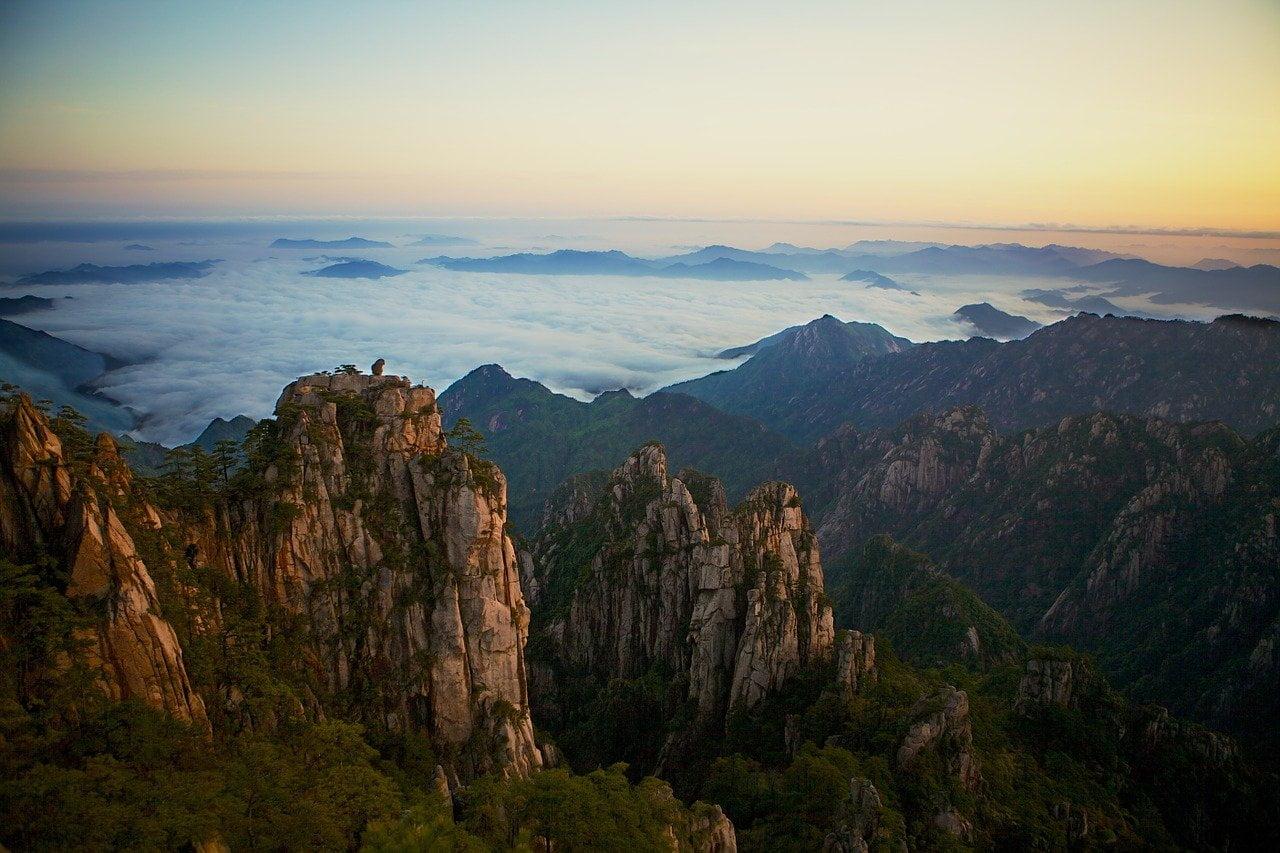 Pegunungan Huangshan Tiongkok