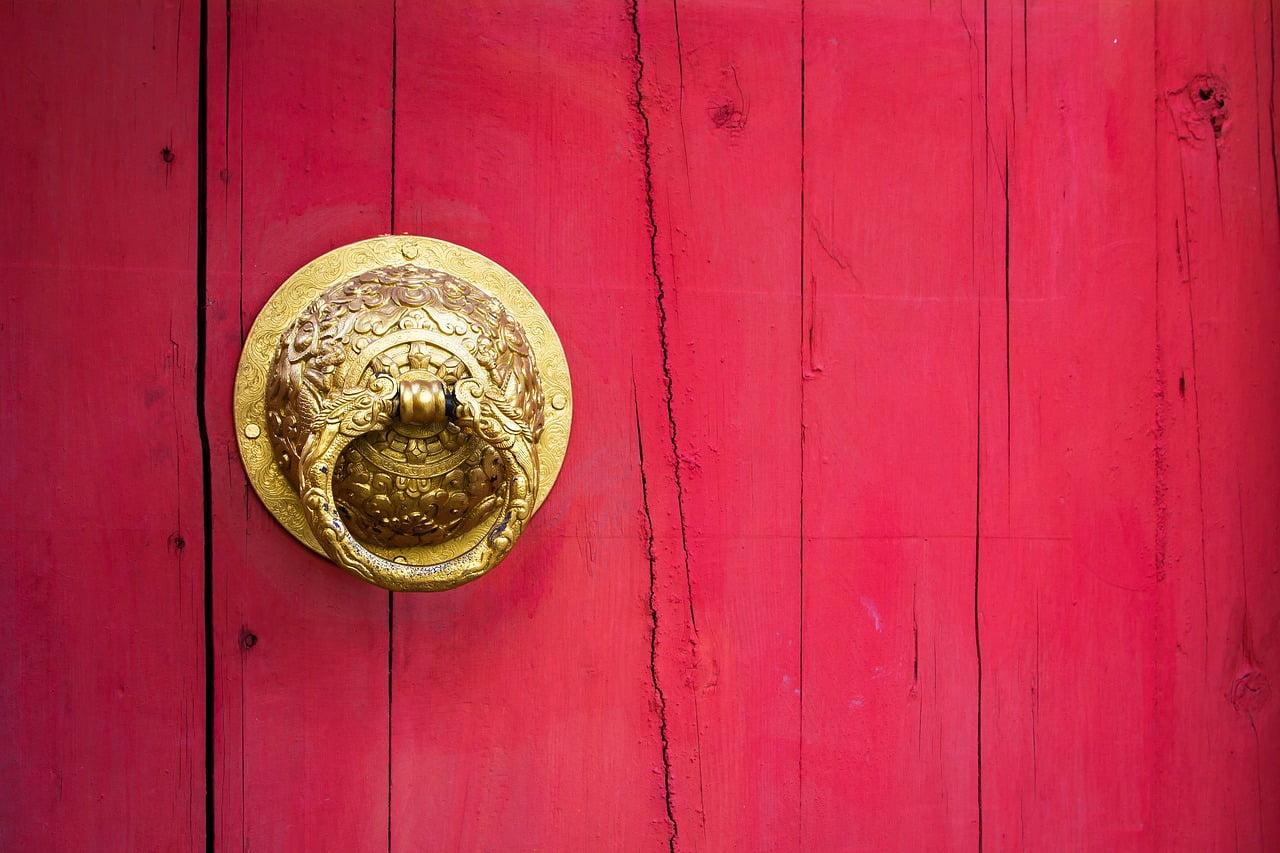 Pintu Tradisional Gerbang Tionghoa