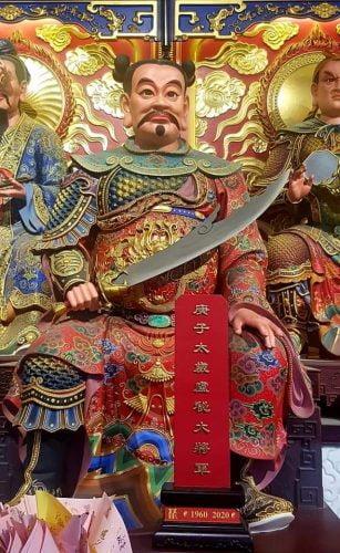 60 Tai Sui di Chiong Long San Tiongkok