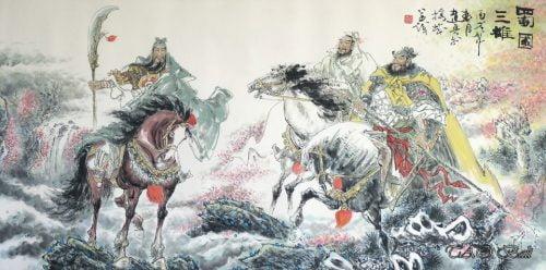 Guanyu, Liubei & Zhangfei, Kisah Tiga Negara, 三國演義, Romance of the Three Kingdoms