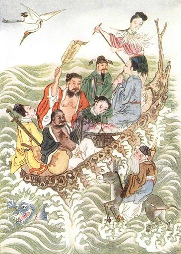 Delapan Dewa / Ba Xian (八仙)
