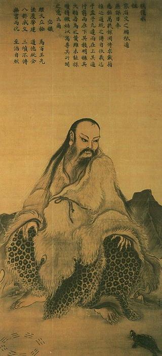 Fu Xi (伏羲) dan Kura-Kura