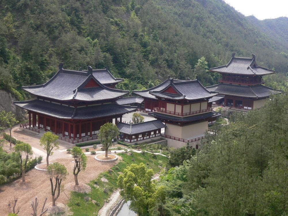 Kuil Huangdi di Jinyun, Lishui, Zhejiang, Tiongkok