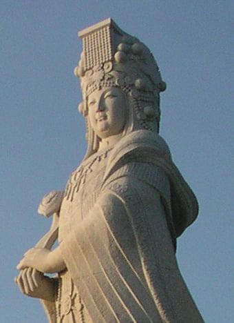 Patung Dewi Tian Shang Sheng Mu (天上圣母) di Kinmen, Tiongkok