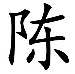 Asal Usul Marga Chen (陈)