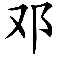 Asal Usul Marga Deng (邓)