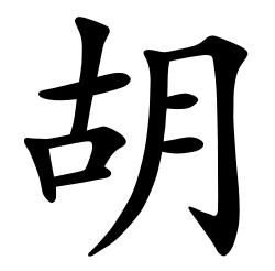 Asal Usul Marga Hu (胡)