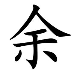 Asal Usul Marga Yu (余)