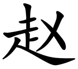 Asal Usul Marga Zhao (赵)